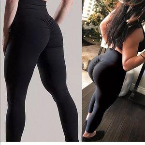 Pants - Hot Women Butt Lift Pants High Waist Yoga